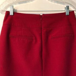 Worthington Skirts - Worthington red pencil skirt